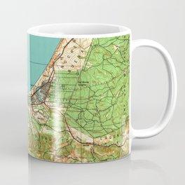Vintage Map of Monterey California (1941) Coffee Mug