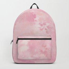 Pink rose fuscia batic look Backpack