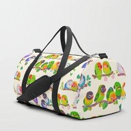Lovebird Duffle Bag