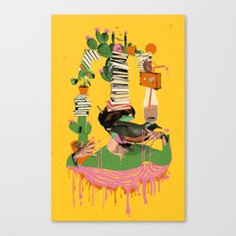 SURREAL KNOWLEDGE Canvas Print