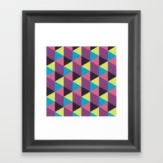 Prisma Shadows Framed Art Print