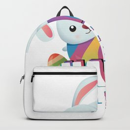 Easter April Fool's Day Gifts Bunny Egg Easter Funny Backpack