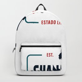 Guanajuato Mexico State License Plate Design Backpack