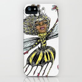 Queen Bee of Color iPhone Case