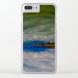 Pahoa Tufa Clear iPhone Case