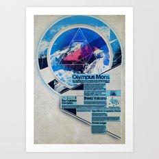Olympus Mons - Exploration #3 Art Print