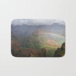 Waimea Canyon Rainbow Bath Mat