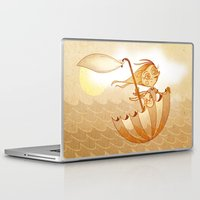freedom Laptop & iPad Skins featuring Freedom by José Luis Guerrero