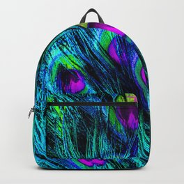 Peacock or Flower 1 Backpack