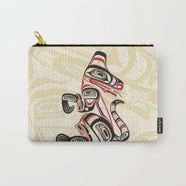 Salish Wolf Carry-All Pouch