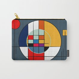 abstract art geometric Carry-All Pouch
