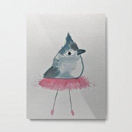 Pink Tutu Metal Print