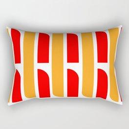 Bauhaus Font art: Joschmi & Xants Rectangular Pillow
