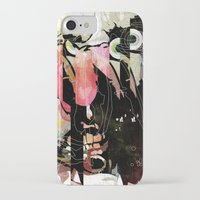 frank iPhone & iPod Cases featuring Frank by Alvaro Tapia Hidalgo