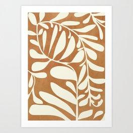 Abstract Plant 3/2 Art Print