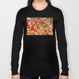 Vintage Valentine Cards - Love, Humor, Funny, Mermaids, Seahorse, Red Hearts,Couples, Reto Inspired Long Sleeve T-shirt