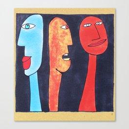 - threesome #2 - Canvas Print