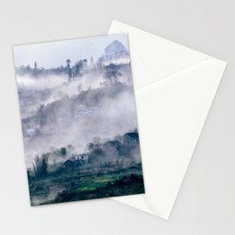 Foggy Mountain of Sa Pa in VIETNAM Stationery Cards