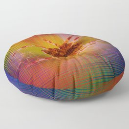 Moments Spider - Abstract Floor Pillow