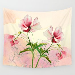 flower love Wall Tapestry