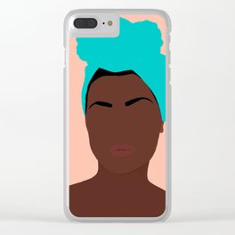 Ava Clear iPhone Case