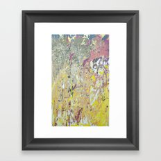 March rain Framed Art Print