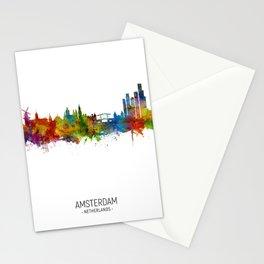 Amsterdam The Netherlands Skyline Stationery Cards