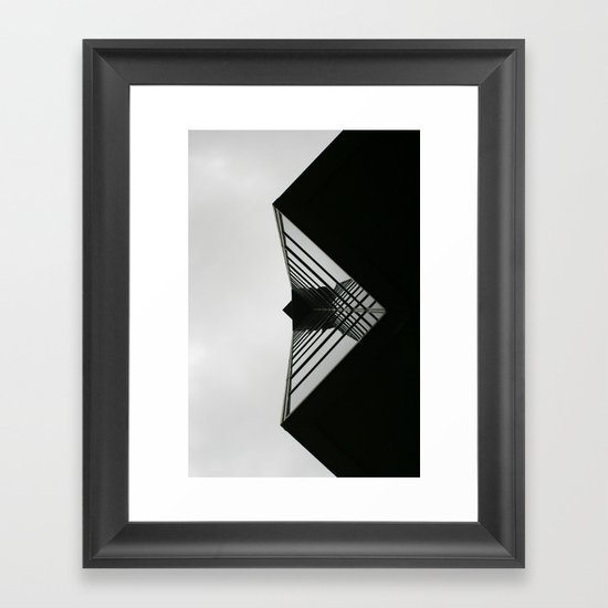 Uncomfortable suits Framed Art Print