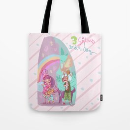 3 sisters and a dog! Tote Bag