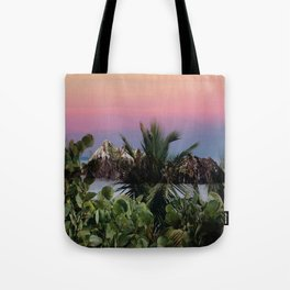 Tropical d'hiver Tote Bag