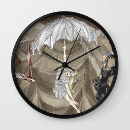 Midnight Circus: the Acrobats Wall Clock