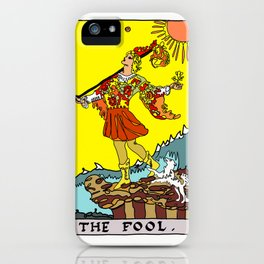 The Fool-Tarot Card iPhone Case
