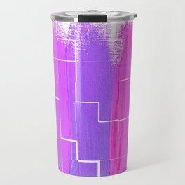 Purple Palette, Pastels, Pinks, Purples, Hues Travel Mug