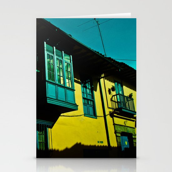 THE BALCONY IN CANDELARIA Stationery Cards
