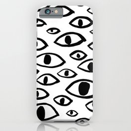 got my eyes on you iPhone Case