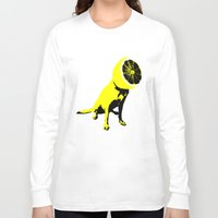 lemon Long Sleeve T-shirts featuring lemon by Ali GULEC