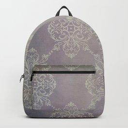 Vintage Damask - Violet Backpack