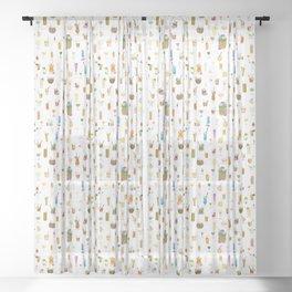 Happy Hour Sheer Curtain