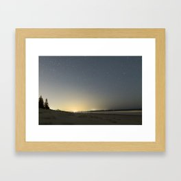 Jervis Bay Beach Framed Art Print