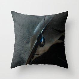 crow feather Throw Pillow