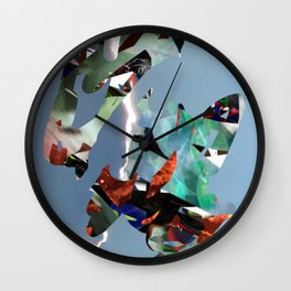 Splash no.6 Wall Clock