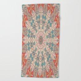 Jungle Kaleidoscope 3 Beach Towel