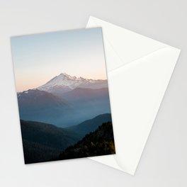 Mt. Baker at Sunset Stationery Cards