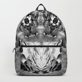 Blac White Mandala Abstract Backpack