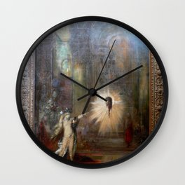 Gustave Moreau - The Apparition Wall Clock