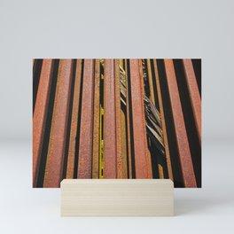 rail Tracks Mini Art Print