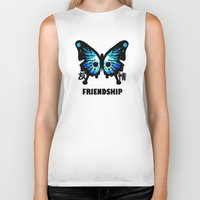 friendship Biker Tanks featuring Friendship by Jinventure