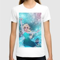 frozen elsa T-shirts featuring Frozen Elsa by Teo Hoble