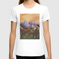 horses T-shirts featuring Horses by Caleb Boyles