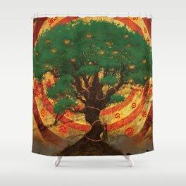 Forbidden Fruits Shower Curtain